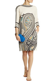 Etro Paisley-print silk dress