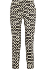 Etro Printed stretch-wool pants