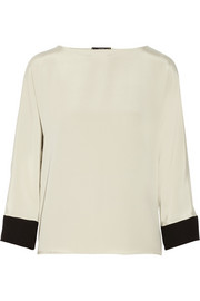 Etro Silk-satin top