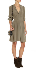 Vanessa Bruno Billund silk crepe de chine dress