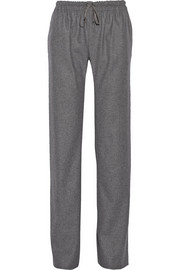 Vanessa Bruno Bristol wool-blend flannel straight-leg pants