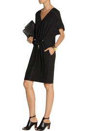DAY Birger et Mikkelsen Classic satin-trimmed gabardine dress
