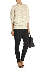 DAY Birger et Mikkelsen Classic satin-trimmed gabardine tapered pants
