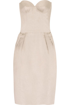 Stella McCartney Iridescent bustier dress