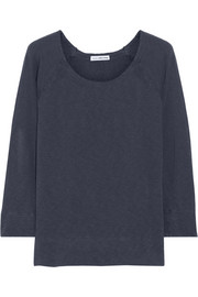 James Perse Vintage cotton-terry sweatshirt