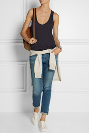 James Perse Slub cotton-jersey tank