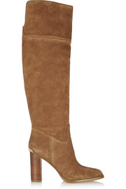 MICHAEL Michael Kors Regina suede over-the-knee boots