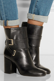 MICHAEL Michael Kors Kendra polished-leather ankle boots