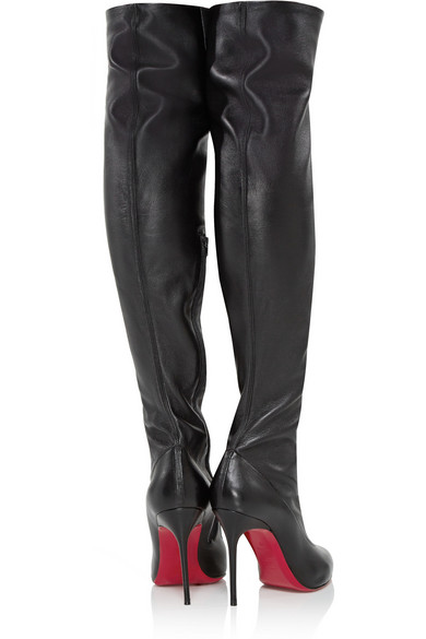 christian louboutin monica over the knee boots
