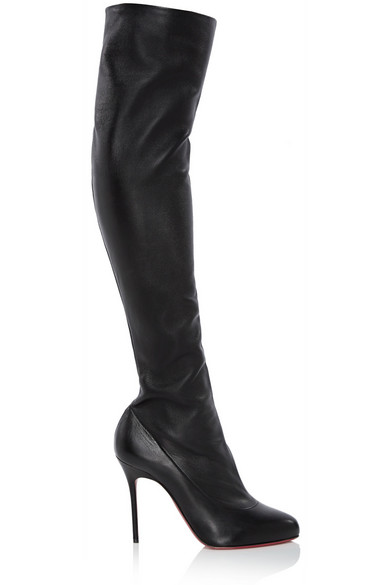 34344513d28 Sempre Monica 100 leather over-the-knee boots