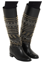 Rom Chic 60 spiked leather knee boots