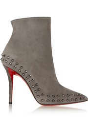 Willeta 100 spiked suede ankle boots
