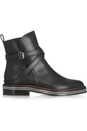 Chelsea Chain 20 leather ankle boots