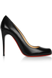 Christian Louboutin Hi Elisa 100 leather pumps