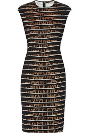 Roberto Cavalli Printed stretch-jersey dress