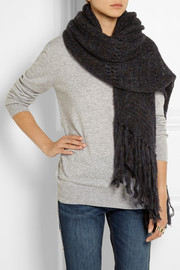 Étoile Isabel Marant Ricky knitted scarf