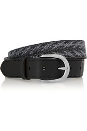 Étoile Isabel Marant Uma embroidered leather belt