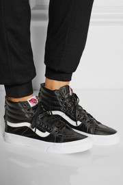 Vans Sk8 leather high-top sneakers