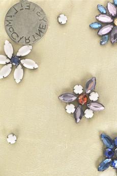 Stella McCartneyGem-embellished clutch