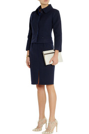Nina Ricci Stretch-twill pencil skirt