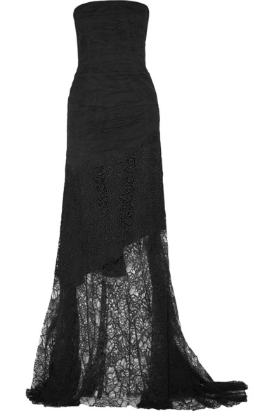 Sale alerts for Nina Ricci Strapless lace gown - Covvet