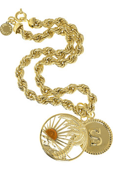 Stella McCartney Palm pendant necklace