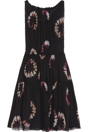 Nina Ricci Printed silk-chiffon dress