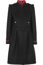 Alberta Ferretti Convertible wool-blend coat