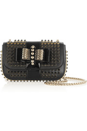 Christian Louboutin Sweety Charity mini studded leather shoulder bag