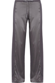 La Perla Stretch-silk satin pajama pants
