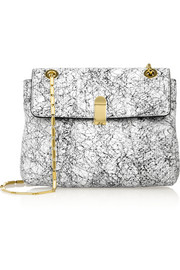Roland Mouret Bagatelle printed elaphe shoulder bag