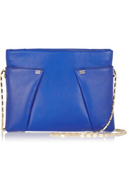 Roland Mouret Montsouris leather shoulder bag