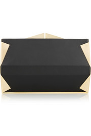 Palais Royale embellished leather box clutch