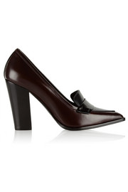 Nicholas Kirkwood Polished-leather pumps
