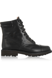 Robert Clergerie Delbie lace-up leather boots