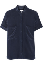 Bleeker B silk shirt
