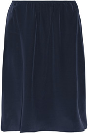 Irving silk crepe de chine skirt
