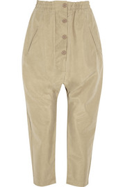 Ezra cropped bonded pants