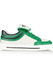 Marc by Marc Jacobs Color-block leather sneakers