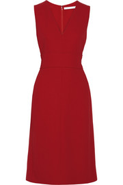 Victoria, Victoria Beckham Double-faced wool-crepe dress