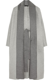 The Row Arnet brushed wool-felt coat
