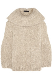 The Row Keeton oversized cashmere sweater