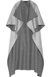 The Row Noden two-tone wool cape