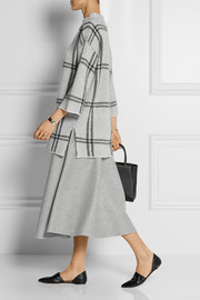 The Row Nisha wool midi skirt