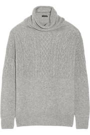 The Row Carrington cashmere and silk-blend sweater