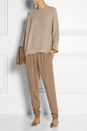 The Row Kerr oversized cashmere and silk-blend sweater