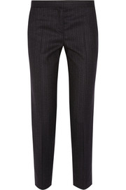 The Row Lasco pinstriped wool-blend slim-leg pants