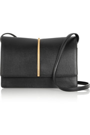 Nina Ricci Arc textured-leather shoulder bag