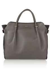 Nina Ricci Marche medium leather and suede tote