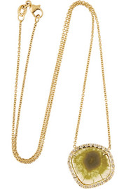 Kimberly McDonald 18-karat gold diamond necklace